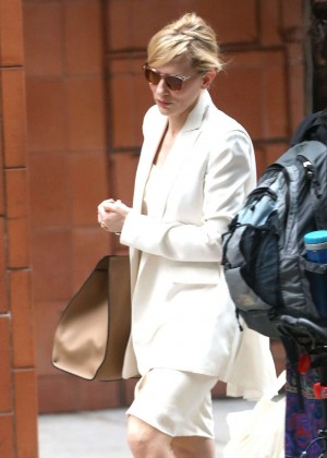 Cate Blanchett Spotted out in New York