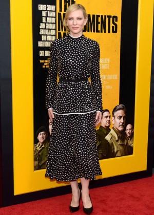 Cate Blanchett: The Monuments Men Premiere -04