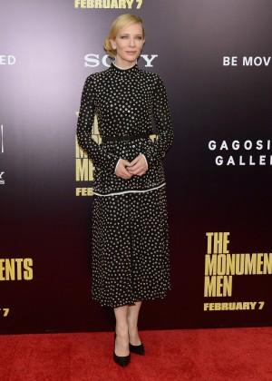 Cate Blanchett: The Monuments Men Premiere -05