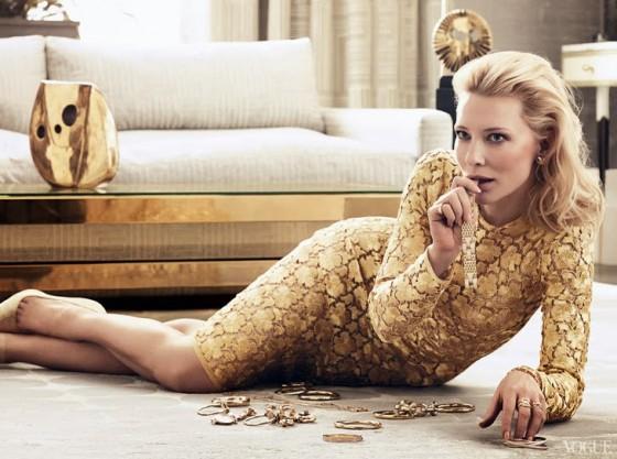 Cate Blanchett: Vogue US 2014 -02