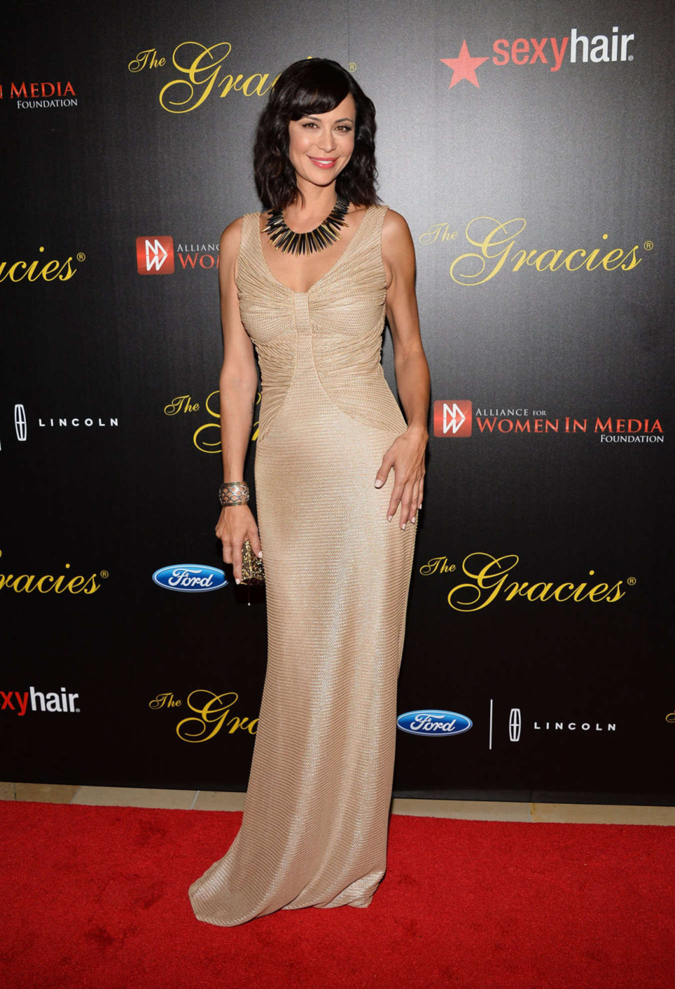 catherine bell 38th annual gracie awards gala at the