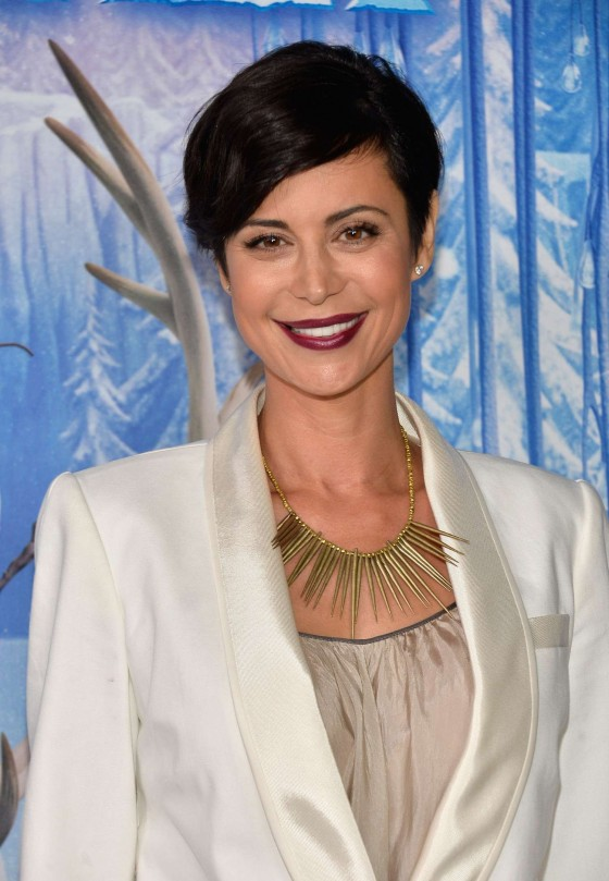Catherine Bell: Frozen Hollywood Premiere -01
