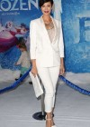 Catherine Bell: Frozen Hollywood Premiere -05
