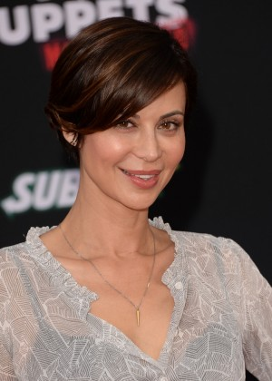 Catherine Bell: Muppets Most Wanted Premiere -02
