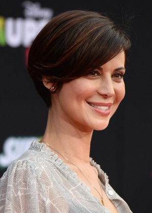 Catherine Bell: Muppets Most Wanted Premiere -04