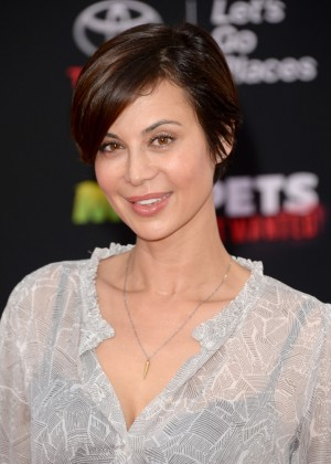 Catherine Bell: Muppets Most Wanted Premiere -08