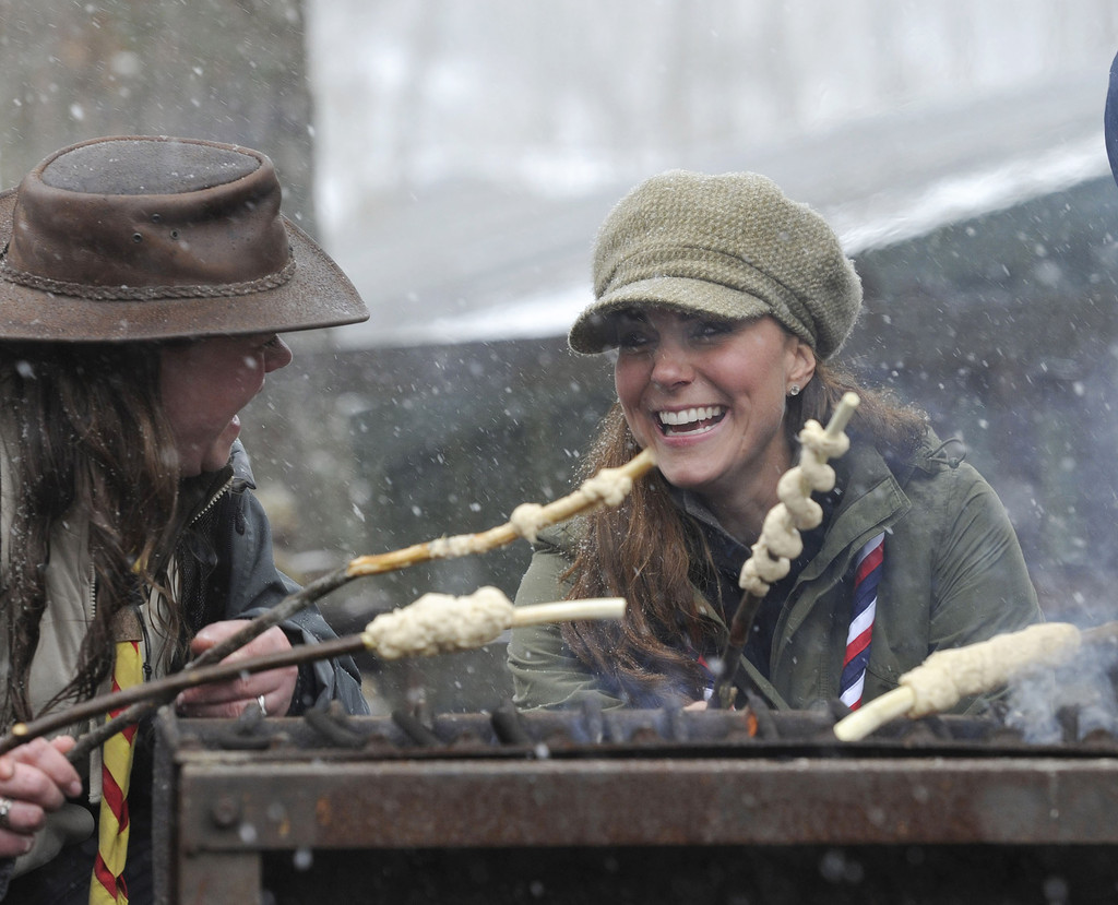 Kate Middletonn 2013 : Catherine Middleton at the Great Tower Scout Camp -13
