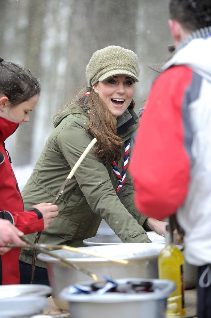 Kate Middletonn 2013 : Catherine Middleton at the Great Tower Scout Camp -18