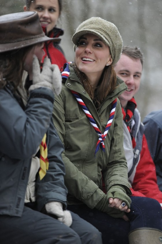 Kate Middletonn 2013 : Catherine Middleton at the Great Tower Scout Camp -19
