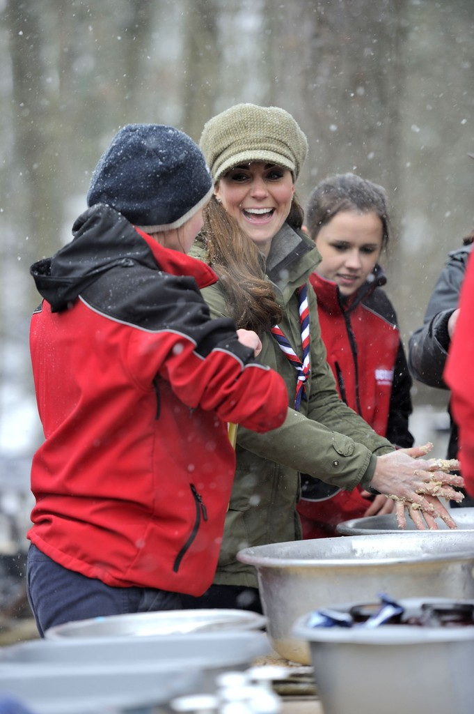 Kate Middletonn 2013 : Catherine Middleton at the Great Tower Scout Camp -22