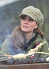 Catherine Middleton at the Great Tower Scout Camp -23