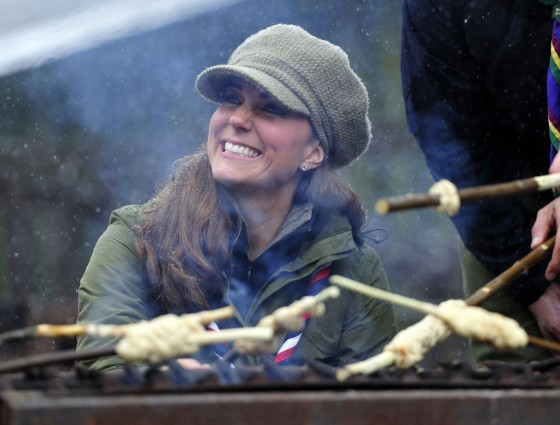 Kate Middletonn 2013 : Catherine Middleton at the Great Tower Scout Camp -31