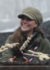 Catherine Middleton at the Great Tower Scout Camp -33
