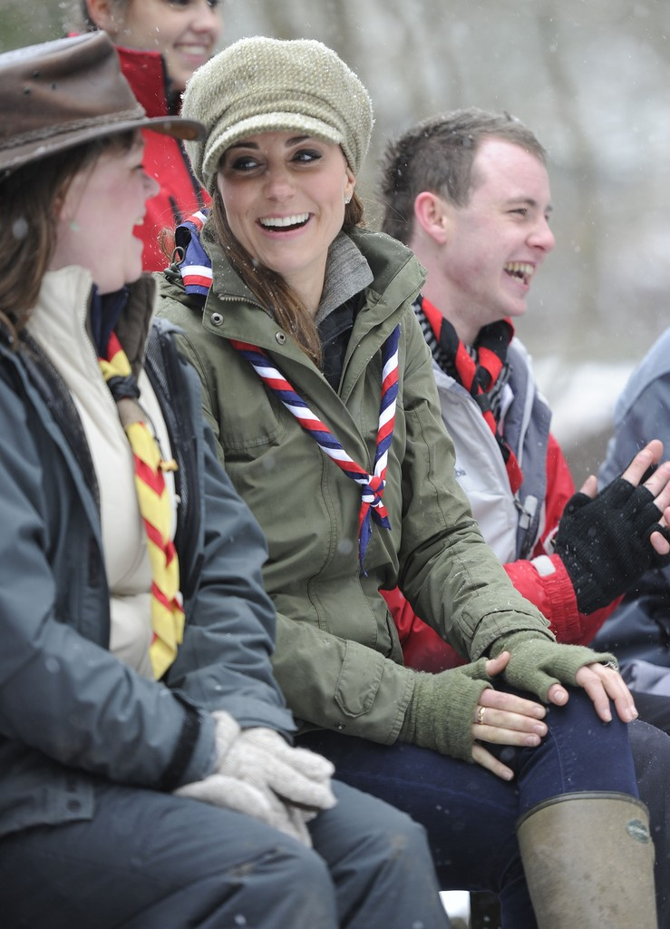 Kate Middletonn 2013 : Catherine Middleton at the Great Tower Scout Camp -39