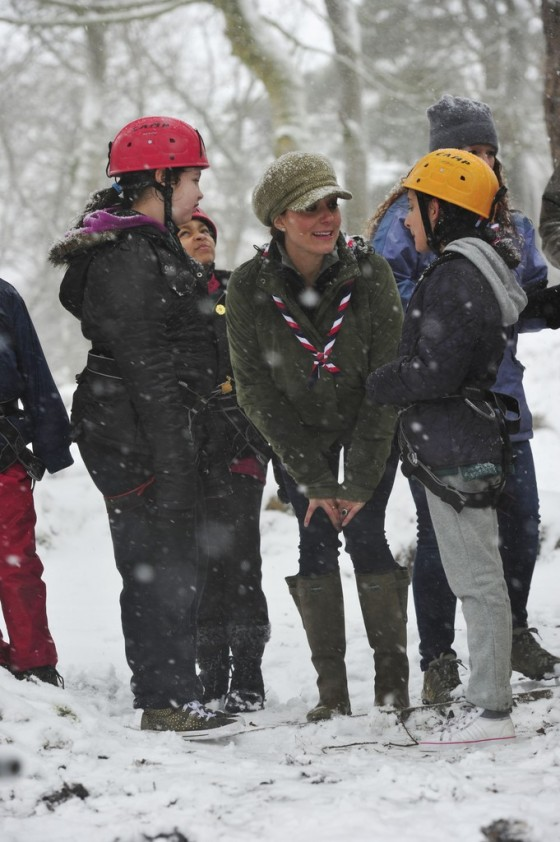 Kate Middletonn 2013 : Catherine Middleton at the Great Tower Scout Camp -42