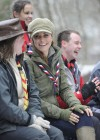 Catherine Middleton at the Great Tower Scout Camp -47