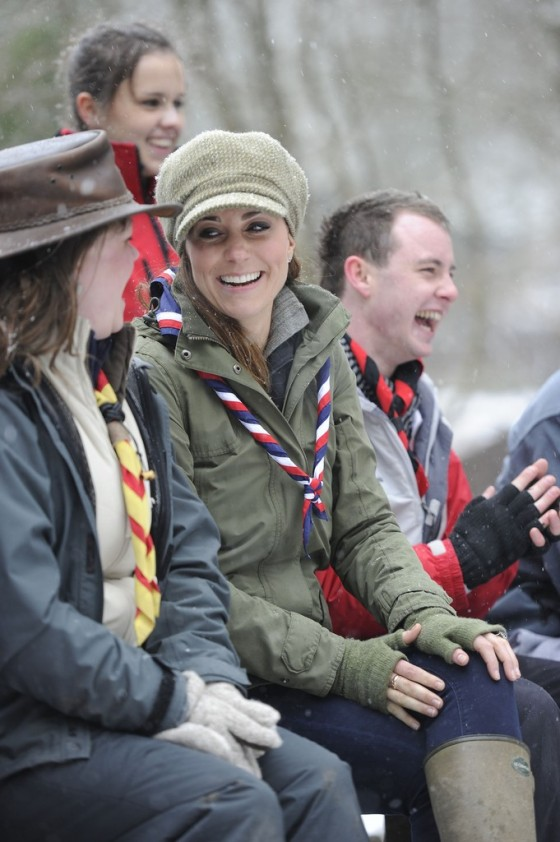 Kate Middletonn 2013 : Catherine Middleton at the Great Tower Scout Camp -47