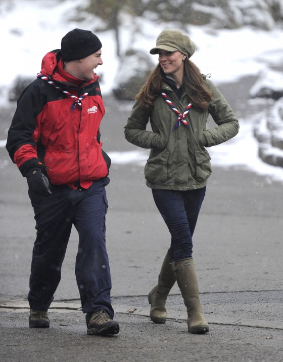 Catherine Middleton at the Great Tower Scout Camp -51