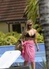 Catherine Tyldesley Bikini Photos: 2014 in St Vincent -05