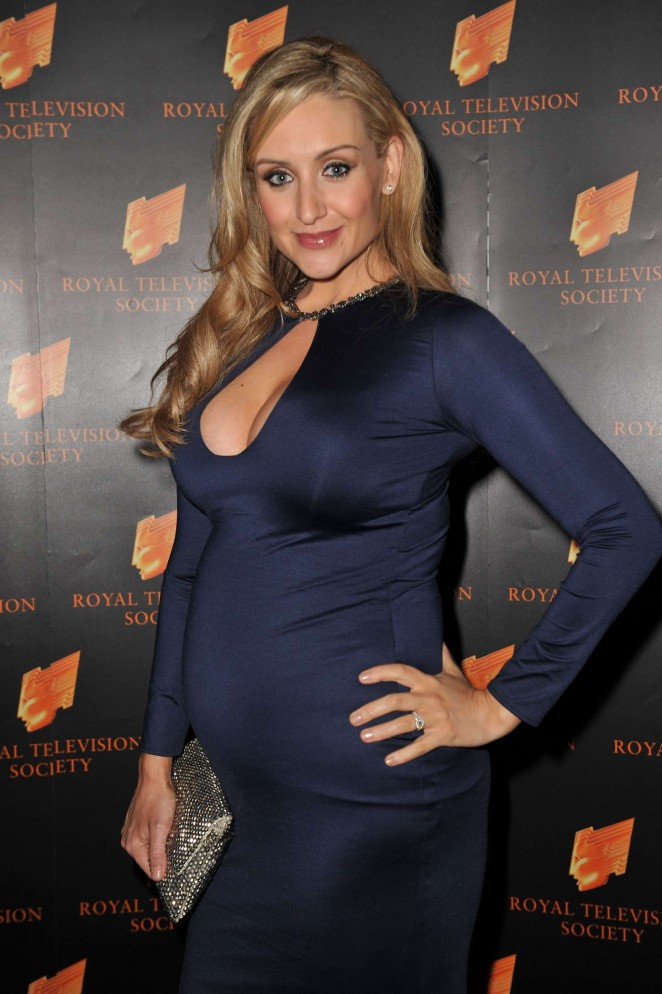 Catherine Tyldesley - 2014 RTS Awards in Manchester