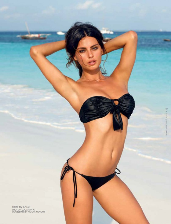 Catrinel Menghia: South African Swimsuit 2013 -05