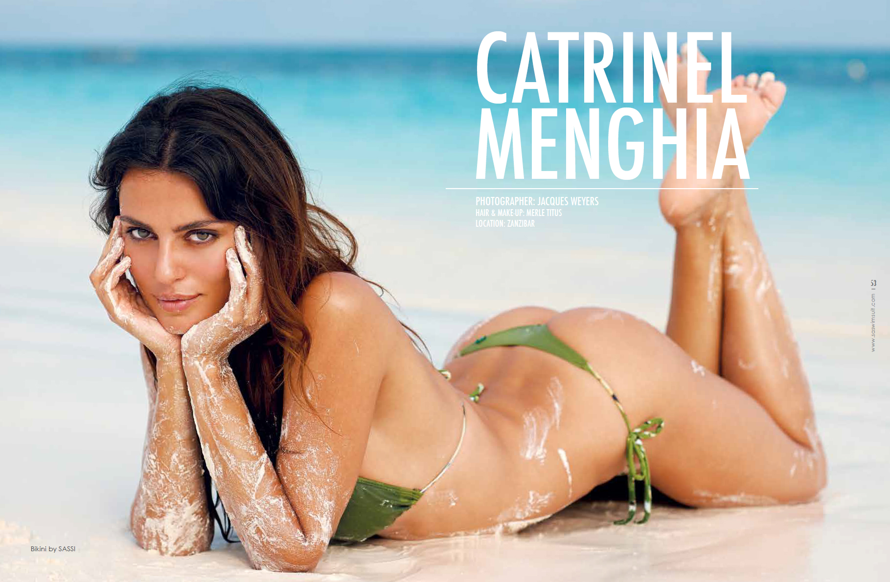 Catrinel Menghia South African Swimsuit 2013 07 Gotceleb