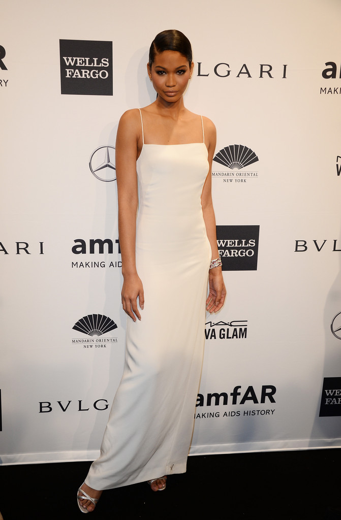 chanel iman 2014 amfar new york gala gotceleb