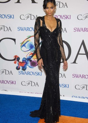 Chanel Iman: 2014 CFDA Fashion Awards -01