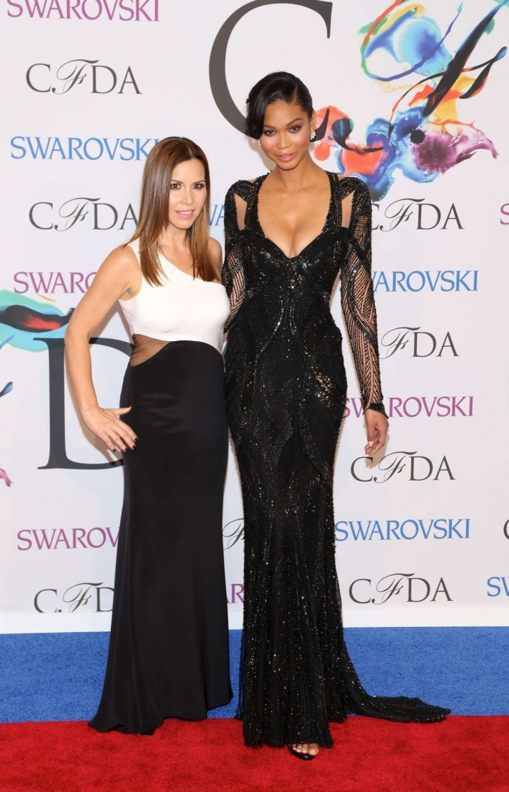 chanel iman 2014 cfda fashion awards gotceleb
