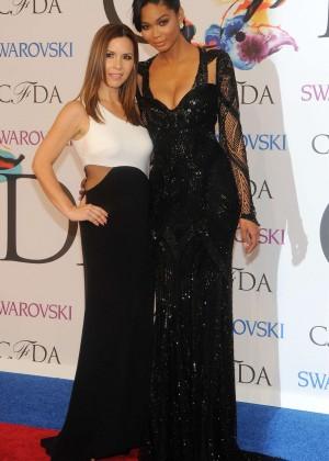 Chanel Iman: 2014 CFDA Fashion Awards -04
