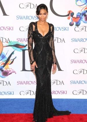 Chanel Iman: 2014 CFDA Fashion Awards -05