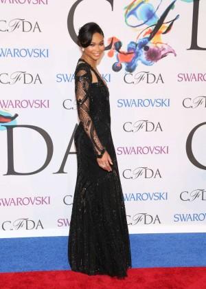 Chanel Iman: 2014 CFDA Fashion Awards -06