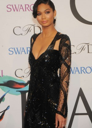 Chanel Iman: 2014 CFDA Fashion Awards -07