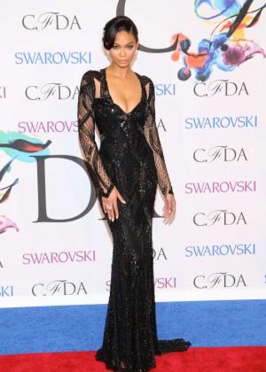 Chanel Iman: 2014 CFDA Fashion Awards -08