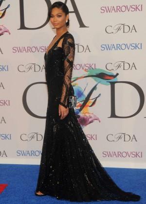 Chanel Iman: 2014 CFDA Fashion Awards -09