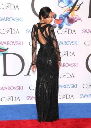 Chanel Iman: 2014 CFDA Fashion Awards -10