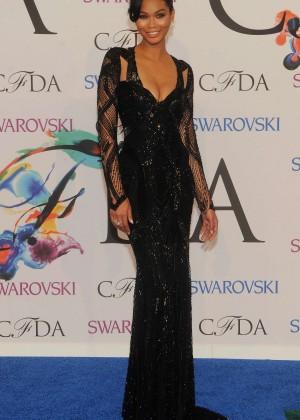 Chanel Iman: 2014 CFDA Fashion Awards -11