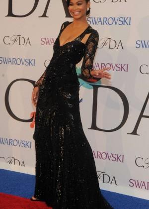 Chanel Iman: 2014 CFDA Fashion Awards -12