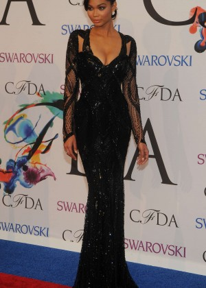 Chanel Iman: 2014 CFDA Fashion Awards -13