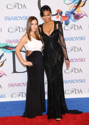 Chanel Iman: 2014 CFDA Fashion Awards -14