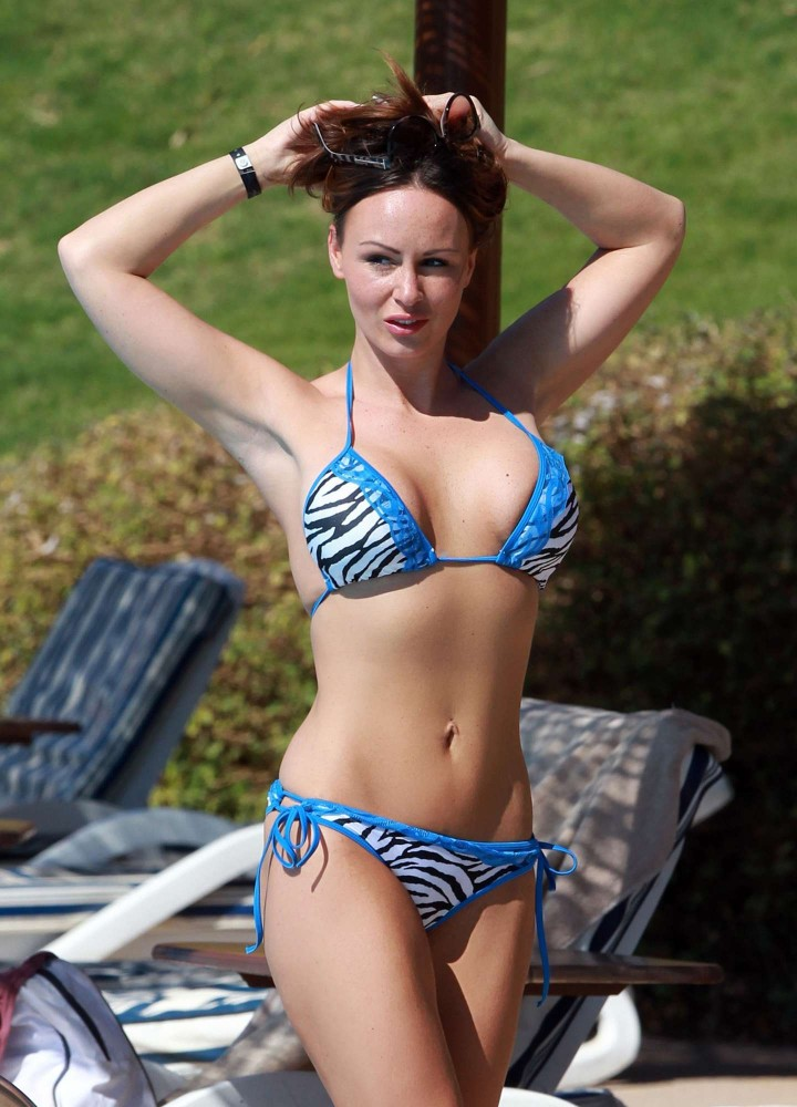 Chanelle Hayes Bikini Photos: 2014 in Egypt -03