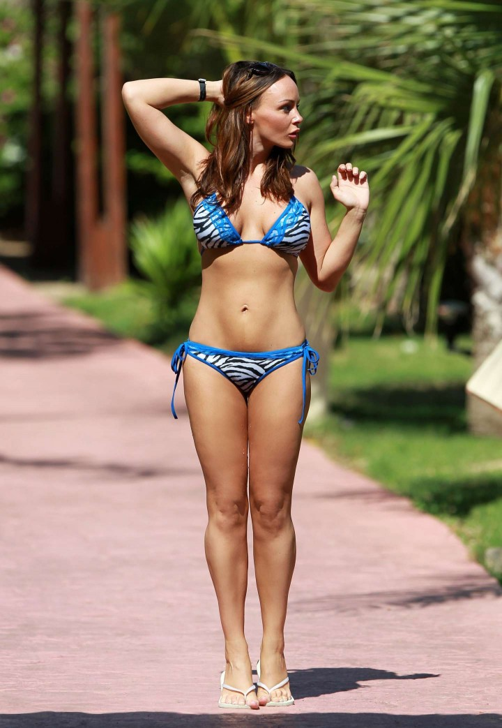 Chanelle Hayes 2014 : Chanelle Hayes Bikini Photos: 2014 in Egypt -04
