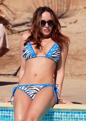 Chanelle Hayes Bikini Photos: 2014 in Egypt -09