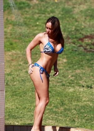 Chanelle Hayes Bikini Photos: 2014 in Egypt -12