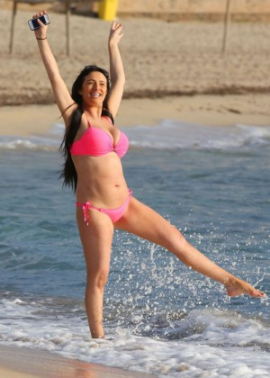 Chantelle Houghton Bikini Photos: 2014 Spain -13