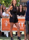 Charisma Carpenter - on the set of Extra in LA -01