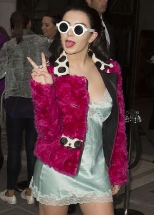 Charli XCX - House Of Holland 2014 London Fashion Week