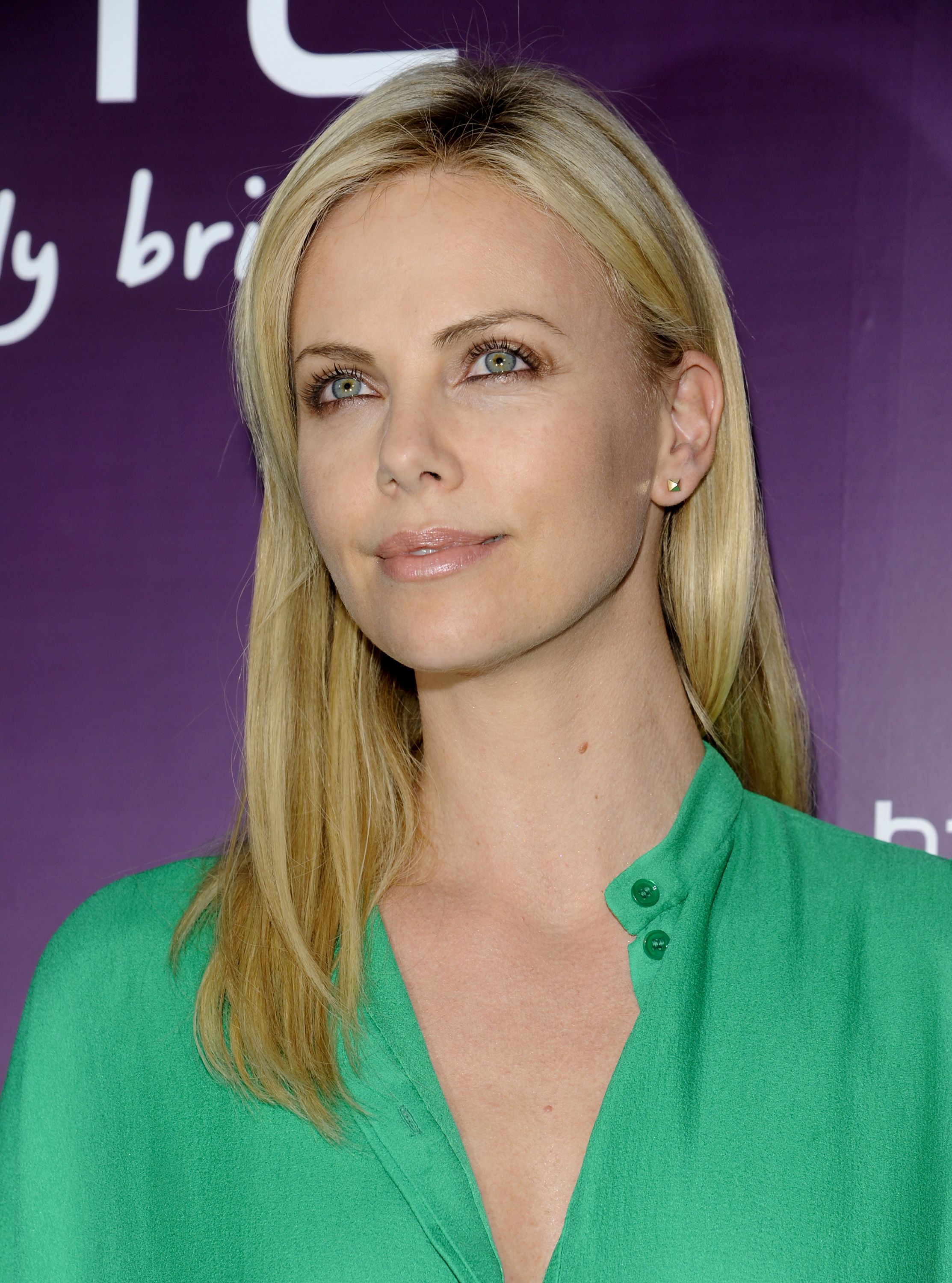 Charlize Theron at HTC...