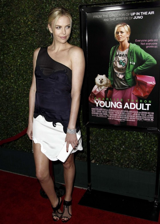 Charlize Theron – Hot at Young Adult Premiere in LA-03