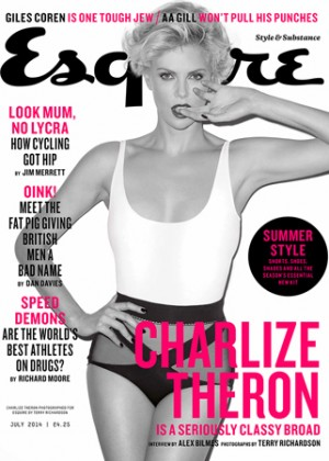 Charlize Theron: Esquire UK 2014 -03